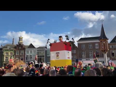Video op YouTube: Onthulling Knillis 2018 in Oeteldonk