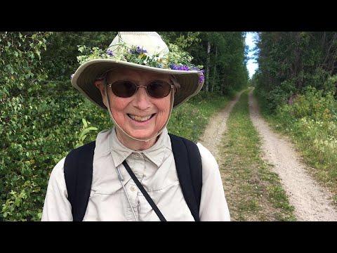 Barb (80) walks St. Olavsleden for second time