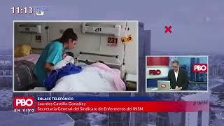 PBO: Más de 7,700 enfermeras contagiadas y 15 están en UCI - INSN ????Lourdes Castillo González 91.9 FM