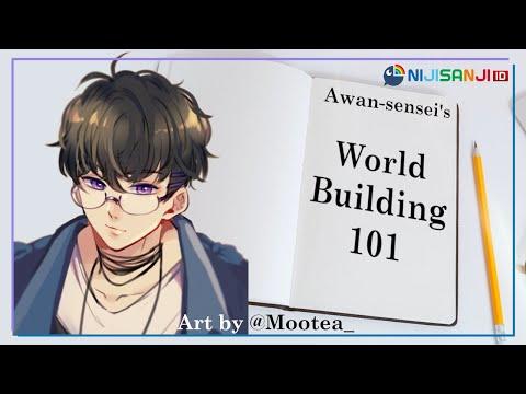 【Horizon Zero Dawn】Awan-sensei's Worldbuilding 101【NIJISANJI ID】
