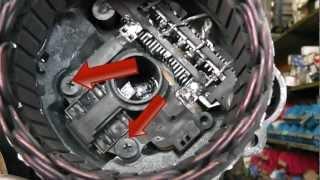 mitsubishi alternator repair brush change fits pajero, kia,pegeot Mitsubishi L200 Workshop Manual mitsubishi alternator repair brush change fits pajero, kia,pegeot and many more youtube