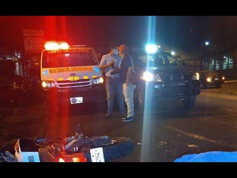 Recientes accidentes viales han dejado dos fallecidos