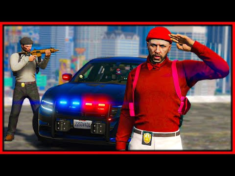 GTA 5 Roleplay   I BECOME FRENCH INSPECTOR   RedlineRP