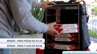 4767b8d8f GI METAL - Caixa Térmica para Delivery - instruções de montagem e  demonstração de uso - YouTube