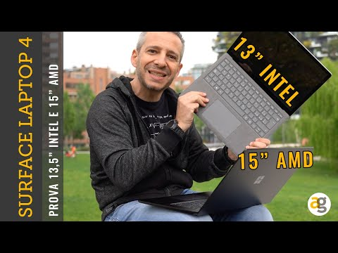 Recensione SURFACE LAPTOP 4  confronto I …