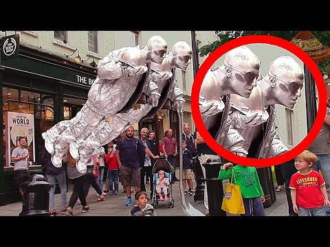 10 Самых Невероятных Уличных Артистов в Мире