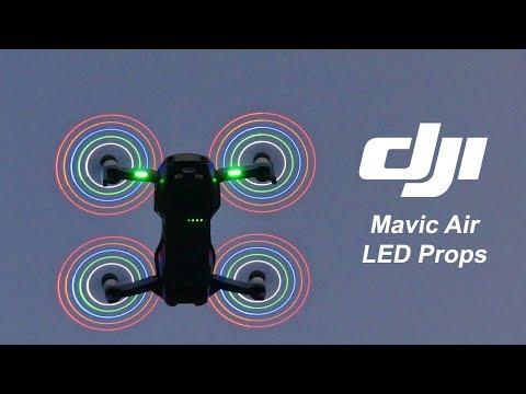 Mavic Air LED Propeller - Test & Review