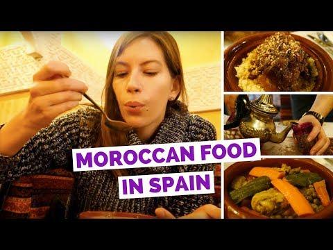 Moroccan Food Review in Granada, Spain