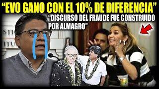 """Ministro de Justicia: """"Discurso del fraude fue construido por Luis Almagro"""""""