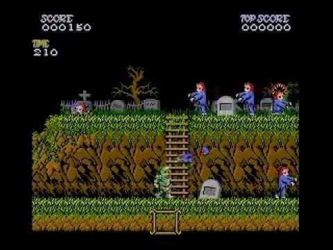 Ghost'n Goblins (MSX turbo R + GFX9000) - Demo 001