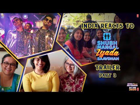 India reacts to Shubh Mangal Zyada Saavdhan Trailer - Part III || Ayushmann K | Jeetu