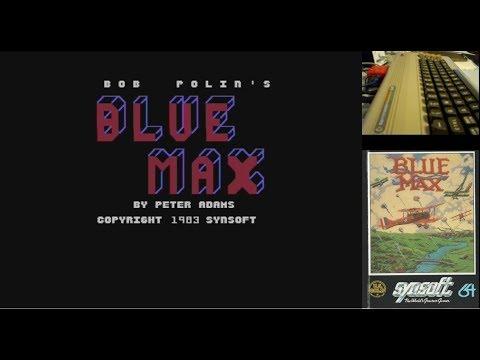 Blue Max - Serie de Juegos Épicos en Commodore 64 real