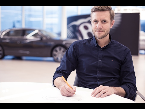 Bentley Masterclass -  John Paul Gregory on Sketching Supersports