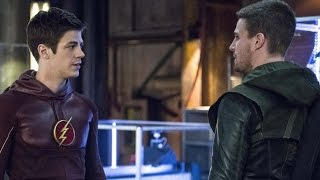 Grant Gustin on The Flash / Arrow Crossover