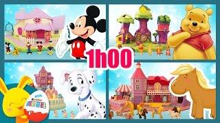 Compilation d'histoires PollyPocket pour les enfants - Mickey - Winnie - 101 Dalmatiens - Touni Toys