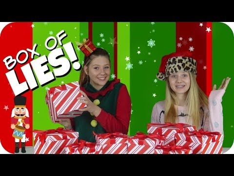 connectYoutube - BOX OF LIES HOLIDAY EDITION    CHRISTMAS CHALLENGE 2017    Taylor and Vanessa