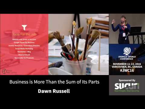 JWC 2016 - Business Is More Than The Sum Of Its Parts - Dawn Russell