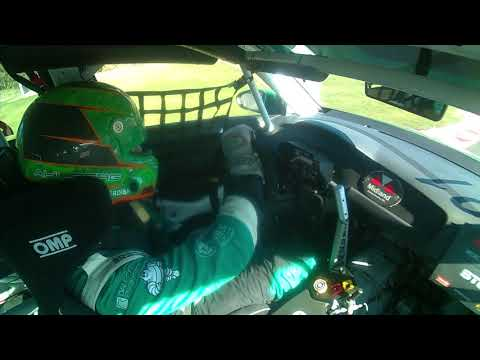 Andreas Ahlberg onboard TCR Knutstorp 2