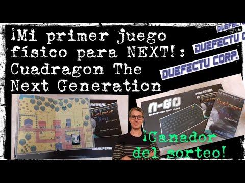 Unboxing: Cuadragon The Next Generation (Duefectu) + ¡Ganador del sorteo!