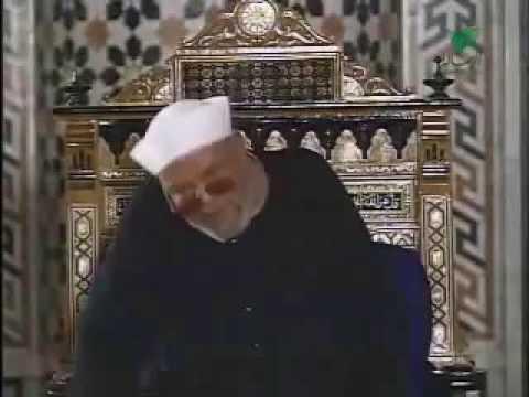 رؤية الله عز وجل لفضيلة الشيخ الشعراوي*** اللهم أجعل وجوهنا ناضرة إلي ربها ناظرة