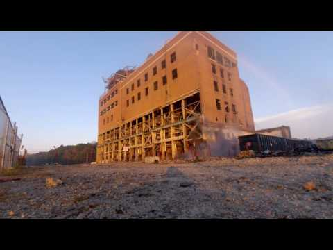 Duke Energy implodes retired Dan River Steam Station