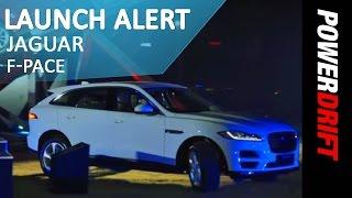 Jaguar F-Pace : Launch Alert : PowerDrift