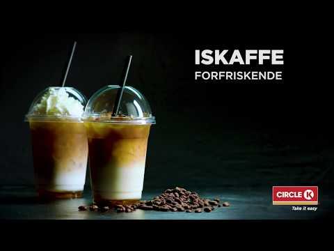 Forfriskende iskaffe