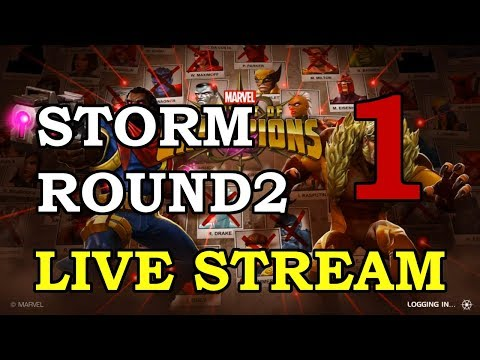 connectYoutube - Storm Round 2 - Part 1 | Marvel Contest of Champions Live Stream