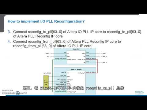 如何在 Arria 10 中实现 IO 锁相环 (PLL) 重配置