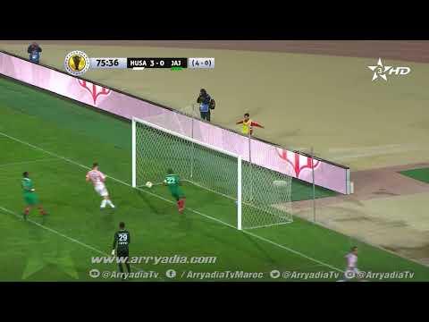 حسنية أكادير 4 - 0 جيما أبا جيفار هدف عبد العلي خنبوبي