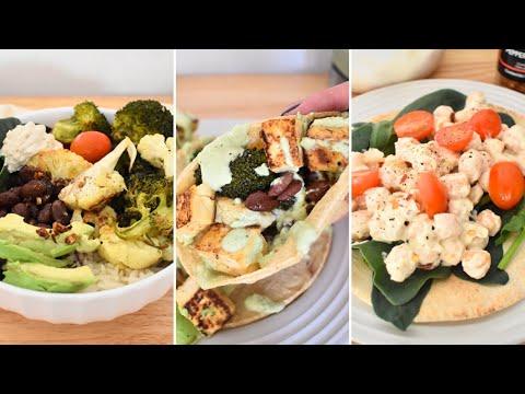 Cenas Veganas Fa?ciles y Rápidas