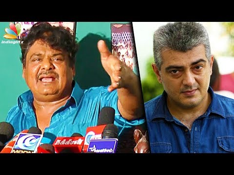 connectYoutube - Ajith would've NEVER said that about Natchathira Kalai Vizha : Mansoor Ali Khan Speech