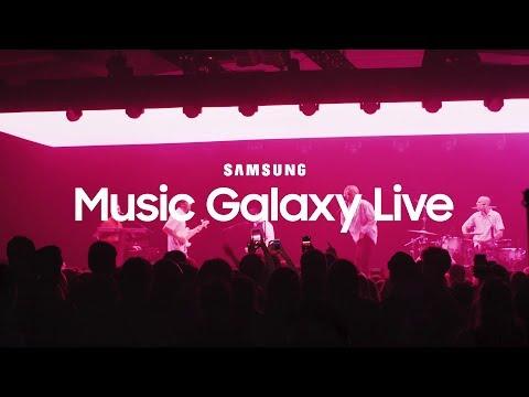 Koncert på TAP1 – Samsung Music Galaxy Live