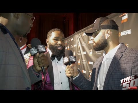 connectYoutube - Is Adrien Broner Still Cool W/ Floyd & Rick Ross?? + Spence Says Crawford Doesn't Have A Chance