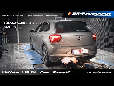 Volkswagen Polo A0 GTI 2.0 TSI / Stage 3 By BR-Performance / *FLAMES*