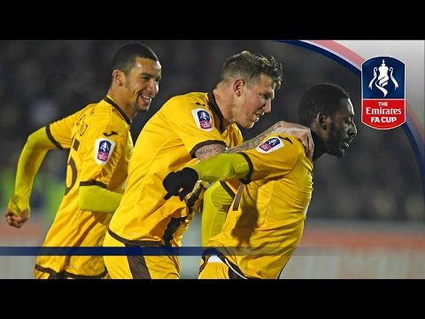 AFC Wimbledon 1-3 Sutton United (Replay) Emirates FA Cup 2016/17 (R3) | Goals & Highlights