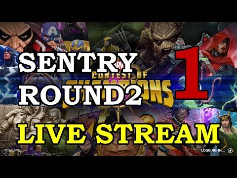 connectYoutube - Sentry 4-Star Arena Round 2 - Part 1   Marvel Contest of Champions Live Stream