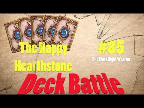 The Happy Hearthstone #85 - Deck Battle - Darkflight Deck