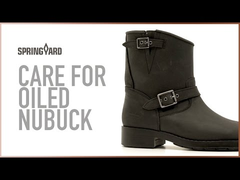 Care For Oiled Nubuck