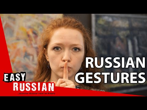 The meaning of gestures in Russia   Super Easy Russian 34 photo