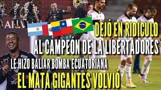 EL MUNDO Elogia a Independiente del Valle tras Golear a Flamengo campeón de libertadores por 5 a 0