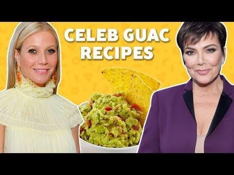 We Tried Celebrity Guacamole Recipes | TASTE TEST
