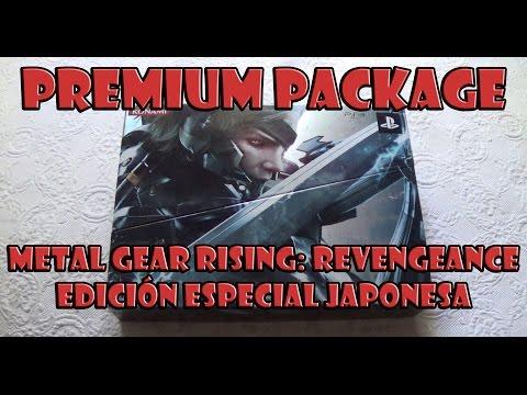 Metal Gear Rising: Revengeance Premium Package Edicion Especial Japonesa Unboxing