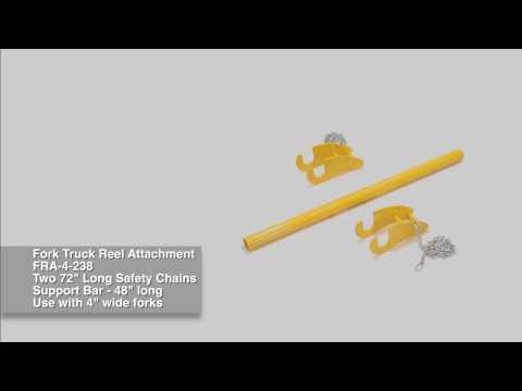 Fork Truck Reel Attachment FRA-4-238