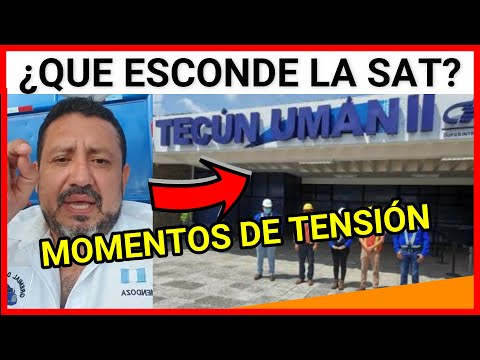 ULTIMA HORA, GUATEMALA RONY MENDOZA EN UN MENSAJE URGENTE, LA SAT DE LA ADUANA TECUN UMAN II