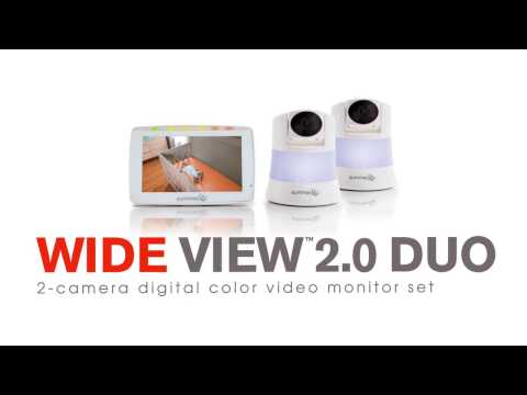 Summer Infant Wide View 2.0 Duo Video Monitor