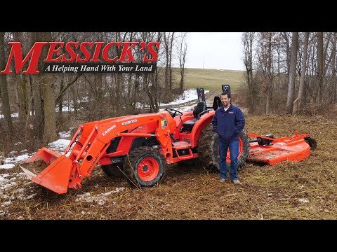 How to run a rotary cutter featuring the Land Pride RCR1872 Picture