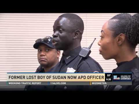 Hero Central by Montlick & Associates - Former Lost Boy of Sudan New APD Officer