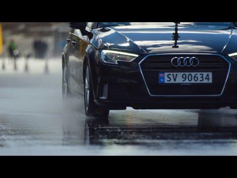Bremsetest: Sommerdekk vs. vinterdekk | Dekktesterne Sesong 2