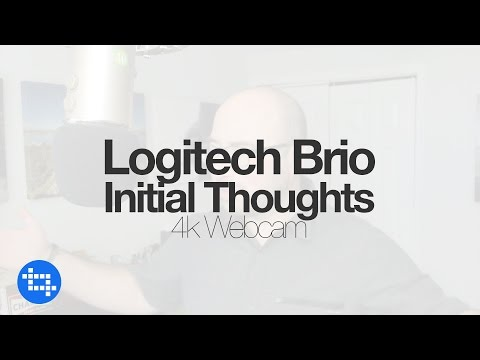 Using a Logitech Brio on a MacBook Pro & Initial Thoughts